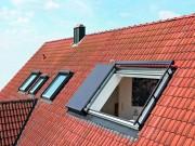 Dachfenster Steildach Roto Azuro Panoramafenster Velux Aschwanden AG Nänikon Uster Hanspeter Sahli Dachdecker Bedachungen