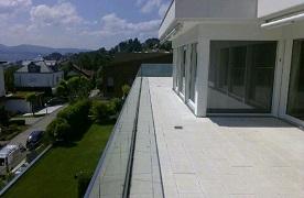Bild einer Terrasse