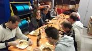 Feines Gulasch beim Essen