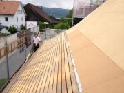 Unterdach Faserplatten Vordachschalung Aschwanden AG Nänikon Greifensee Uster Dachdecker Bedachungen Hanspeter Sahli
