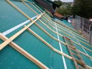 Unterdach Konterlatten Hinterlüftung Dachlatten Aschwanden AG Nänikon Greifensee Uster Dachdecker Bedachungen Spenglerei Hanspeter Sahli