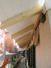 Vordachkonstruktion