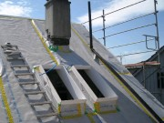 Dampfsperre Anschluss Dachfenster Aschwanden AG Nänikon Uster Hanspeter Sahli Dachdecker Bedachungen Ampatex Siga Sicral Steildach